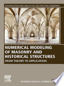 Numerical Modeling of Masonry and Historical Structures