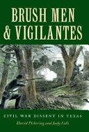 Brush Men   Vigilantes Book PDF