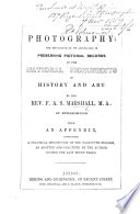 Photography  the importance of its application in preserving pictorial records of the national monuments of history and art  With an appendix  etc