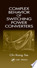 Complex Behavior Of Switching Power Converters Book PDF