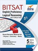 English & Logical Reasoning for BITSAT with 10 Mock Tests (5 in Book and 5 Online Tests) 5th Edition