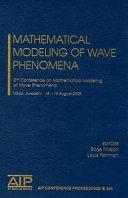 Mathematical Modelling of Wave Phenomena