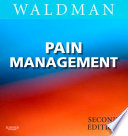 """Pain Management E-Book"" by Steven D. Waldman"