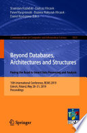 Beyond Databases  Architectures and Structures  Paving the Road to Smart Data Processing and Analysis