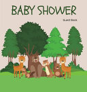 Woodland Baby Shower Guest Book Hardcover  Book PDF