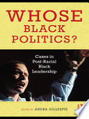 Whose Black Politics