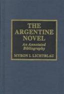 The Argentine Novel
