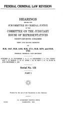 Federal Criminal Law Revision