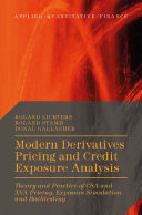 Pdf Modern Derivatives Pricing and Credit Exposure Analysis Telecharger