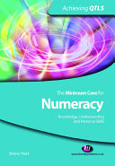 The Minimum Core for Numeracy  Knowledge  Understanding and Personal Skills