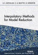 Interpolatory Methods for Model Reduction