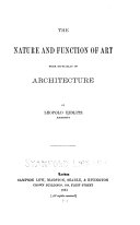 The Nature and Function of Art