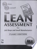 The Lean Assessment for Job Shops and Small Manufacturers