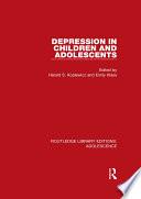 Depression in Children and Adolescents