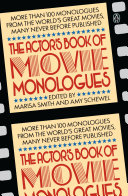 The Actor's Book of Movie Monologues Pdf/ePub eBook