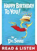 Happy Birthday to You! Read & Listen Edition Pdf/ePub eBook
