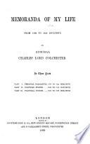 Memoranda of my Life from 1798 to 1859 inclusive
