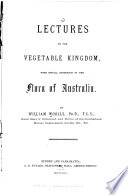 Lectures on the Vegetable Kingdom