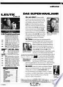 News: Österreichs grösstes Nachrichtenmagazin