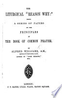 The Liturgical  reason Why
