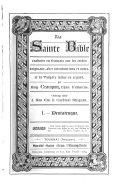 La Sainte Bible traduite en français... avec la Vulgate latine en regard