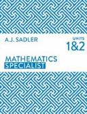 Mathematics Specialist Units 1 and 2