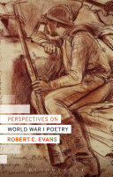 Perspectives on World War I Poetry ebook