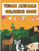 Vegan Animals Coloring Book