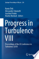 Progress In Turbulence Viii Book PDF