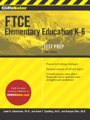 Cliffsnotes FTCE Elementary Education K-6