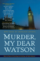 Murder, My Dear Watson Pdf/ePub eBook
