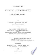 Longmans  School Geography for South Africa