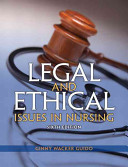 Legal and Ethical Issues in Nursing Book