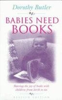 Pdf Babies Need Books
