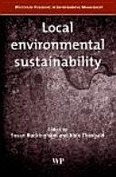 Local Environmental Sustainability [Pdf/ePub] eBook