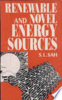 Renewable and Novel Energy Sources Book