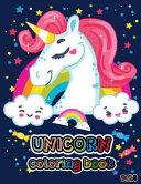 Unicorn Coloring Book Vol. 1