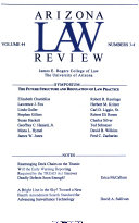 Symposium: the future structure and regulation of law practice