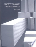Concrete Masonry Designer's Handbook, Second Edition
