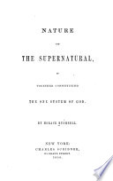 Nature And The Supernatural Book PDF