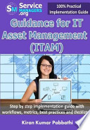 Guidance for It Asset Management (Itam)