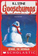 Pdf Beware, The Snowman (Goosebumps #51) Telecharger