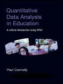 Quantitative Data Analysis in Education