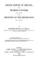 Church History of Ireland