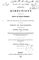 Sailing Directions for the Coasts of Eastern and Western Patagonia, ... Phillip Parker King