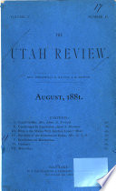 The Utah Review Book