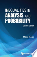 Inequalities in Analysis and Probability Book