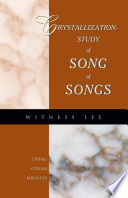 The Crystallization Study Of Song Of Songs