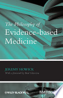 The Philosophy of Evidence based Medicine Book