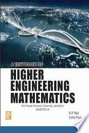 A Textbook of Higher Engineering Mathematics (PTU, Jalandhar) Sem-IV